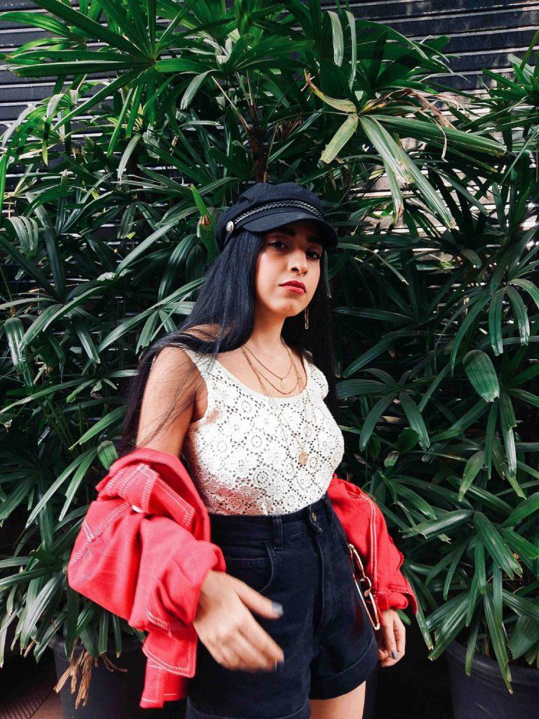 red jacket, red denim jacket, street style, fashion week, neha menghwani, romwe, black friday, sale, offers, black friday sale, trends, fashion, style, instagram, bloggers