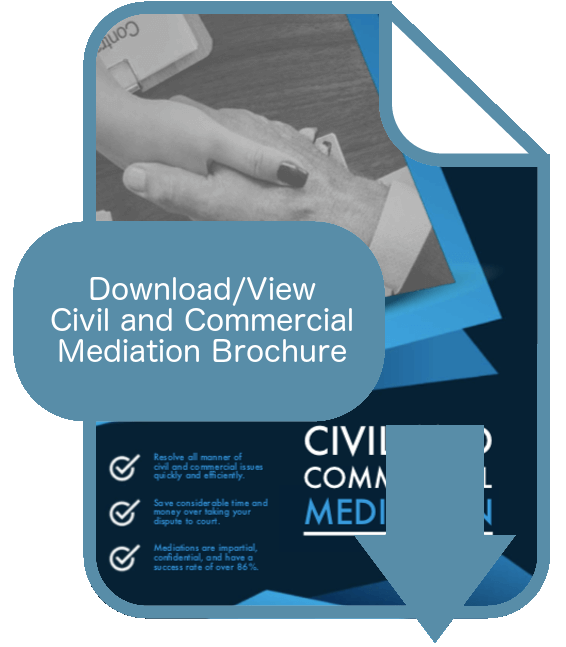 Civil and Commercial Mediation Brochure Thumbnail