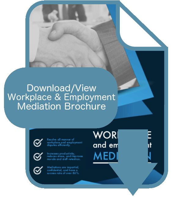Workplace and Employment Mediation Brochure Thumbnail