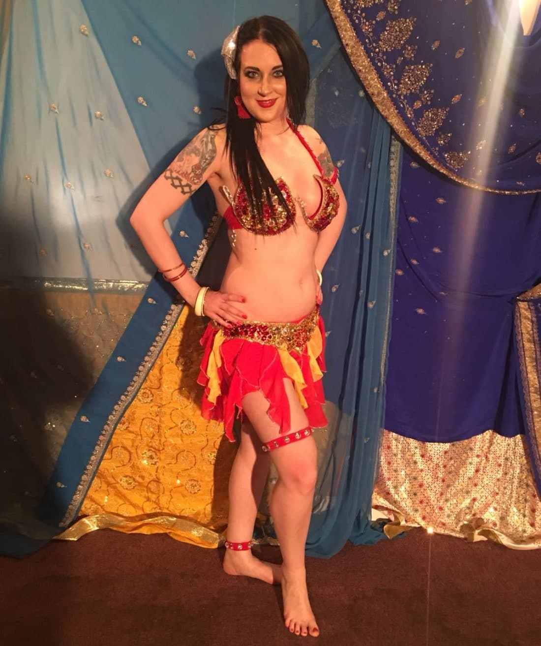 Victoria Egyptian style belly dance
