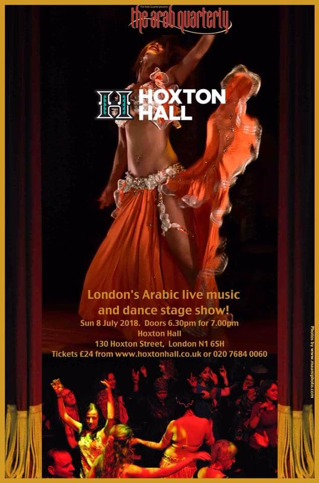 London belly dance show