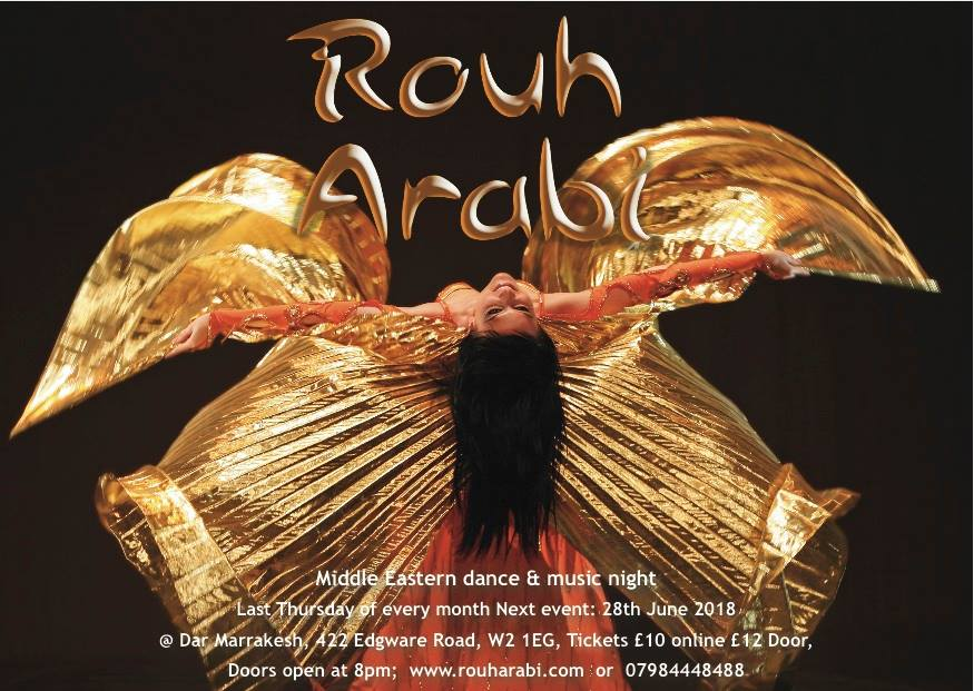 Rouh Arabi London belly dance show