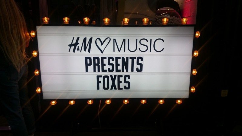 HM music foxes