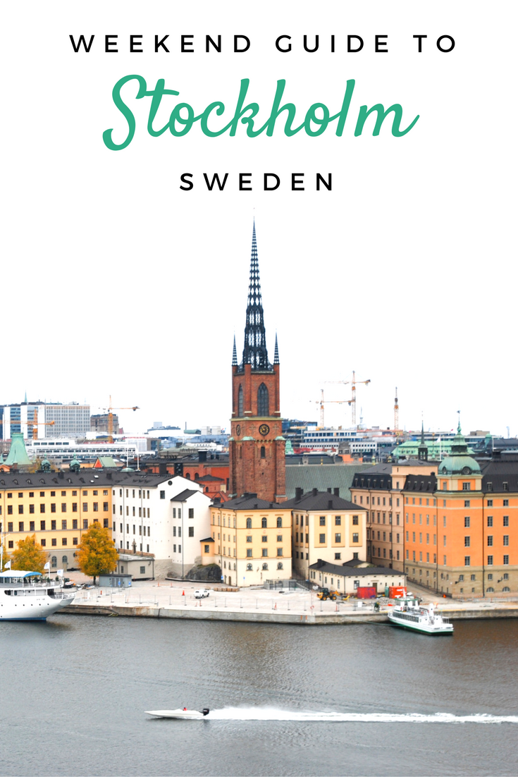 Your Stockholm weekend guide: the best meatballs, city views, shopping, museums and more!