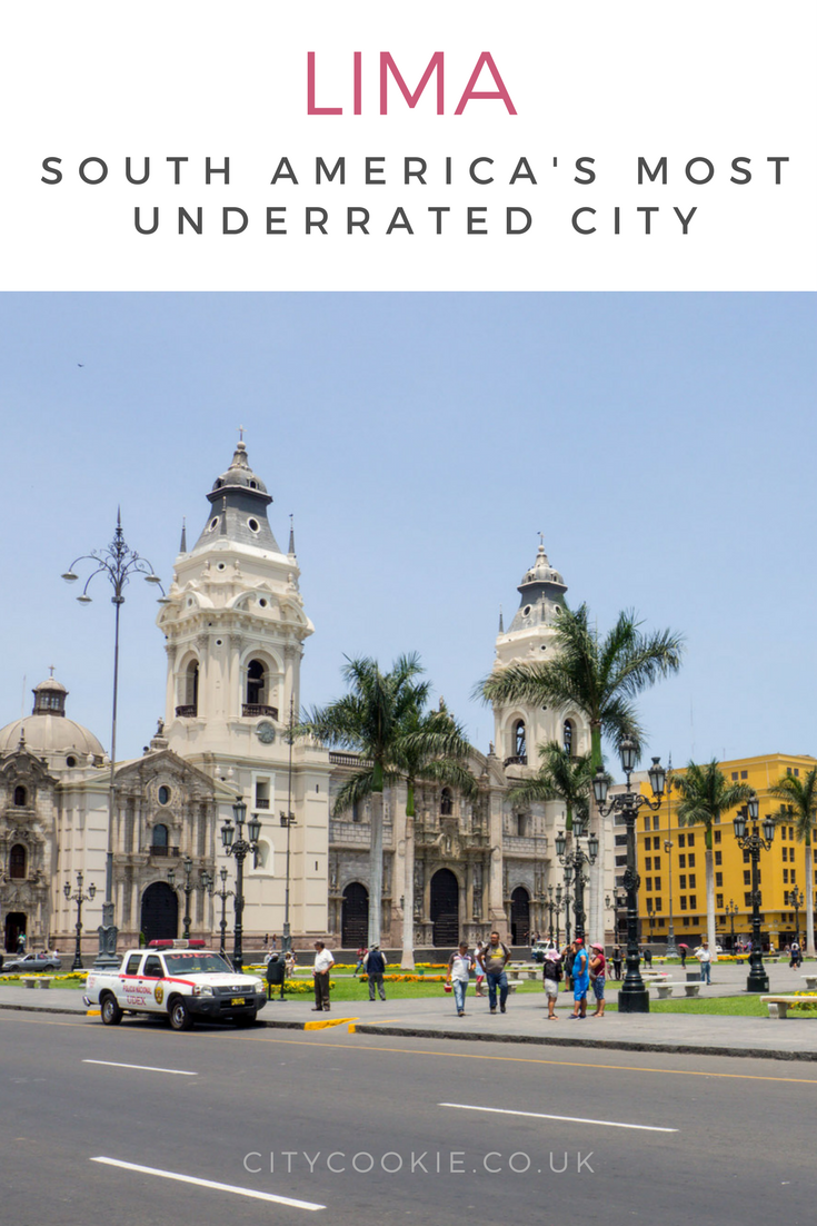 7 reasons why Lima, the capital of Peru, is the most underrated city in South America. #Travel