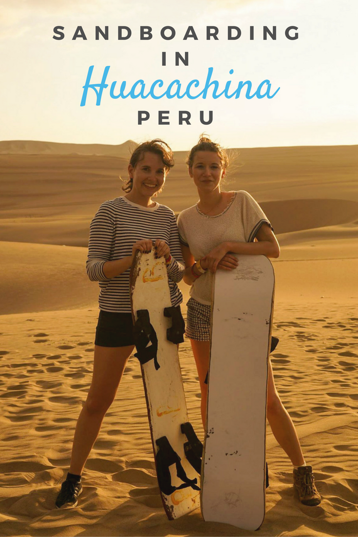 All the tips you need if you're going to Huacachina in Peru. Read about my experience of sandboarding and riding a dune buggy.