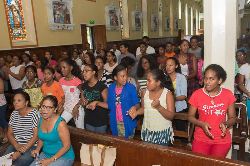 Chorale St Nicolas - Preparation messe des familles