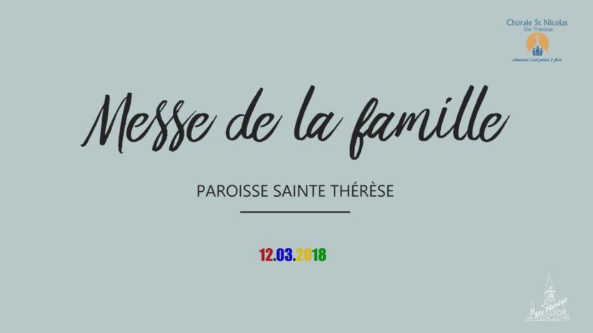 Messe des familles 2018