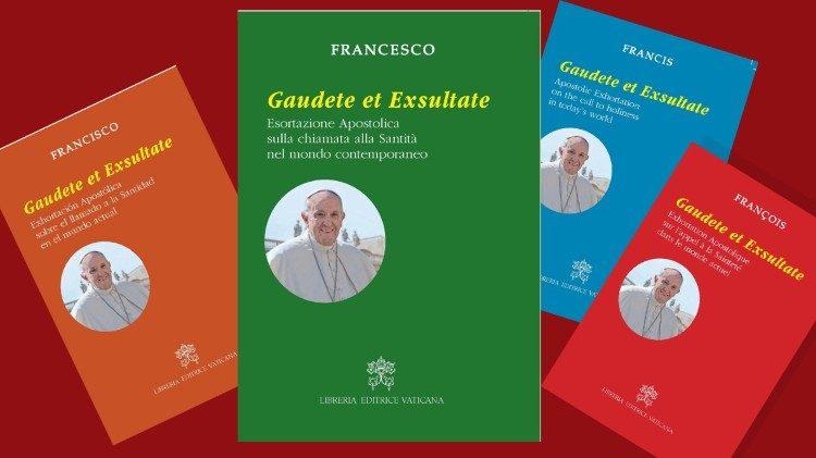 """L'exhortation apostolique """"Gaudete et exsultate"""" est publiée ce lundi 9 avril 2018."""