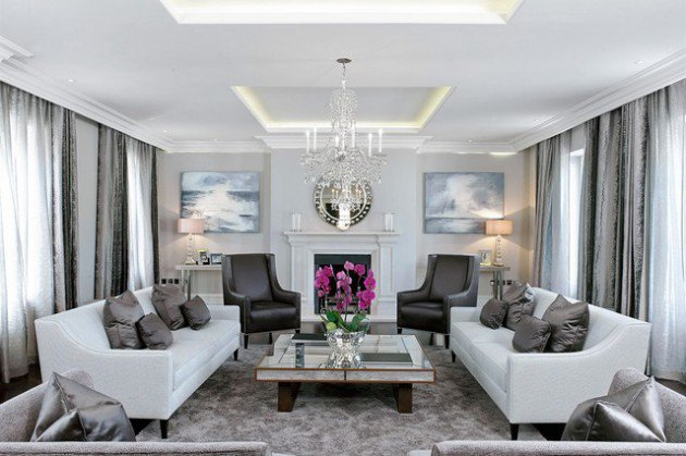 Grey And Off White Living Room Designs | MyCoffeepot.Org