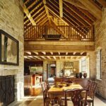 Rustic Dining Room Ideas In Open Style Interior