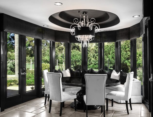Black White Dining Room Designs For Any Home