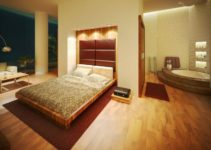Master Bedroom With Bathroom