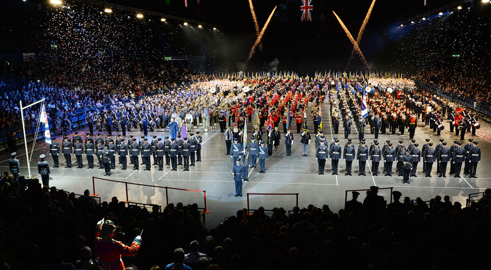 The 2018 Birmingham International Tattoo Grand Finale