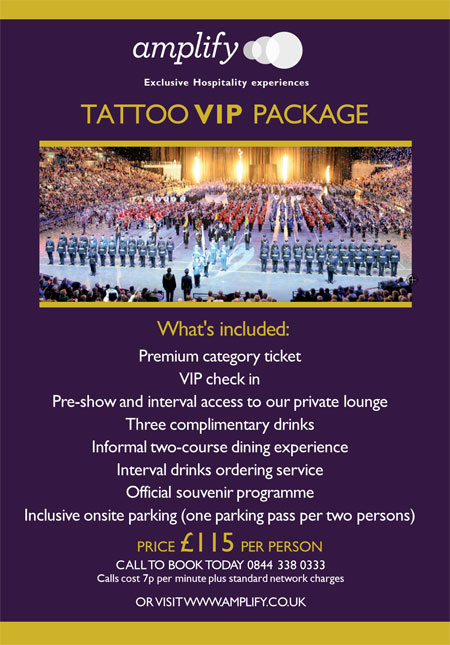 Amplify Tattoo VIP offer