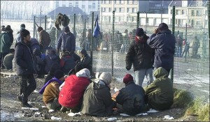 Dia 6  Refugees in Sangatte