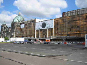 Dia 7 Palace of the Republic, East Berlin Parliament torn down hastily due to asbestos