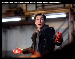 5 Harriet Water as Henry IV, source Donmar Warehouse