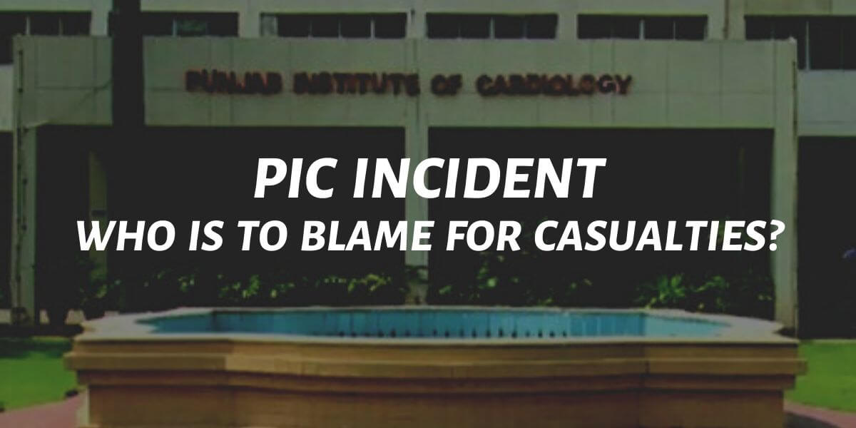who is to blame for pic incident