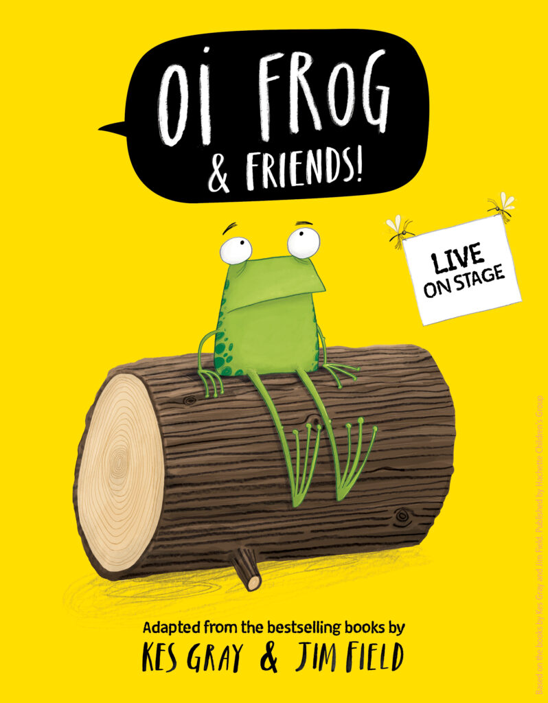 OI FROG & FRIENDS! LEAPS INTO HERTFORD THIS AUTUMN
