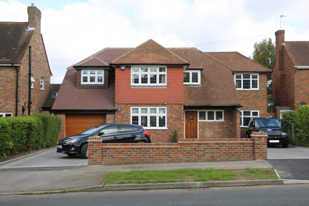 Two storey side & Rear wrap around addition in South Cheam