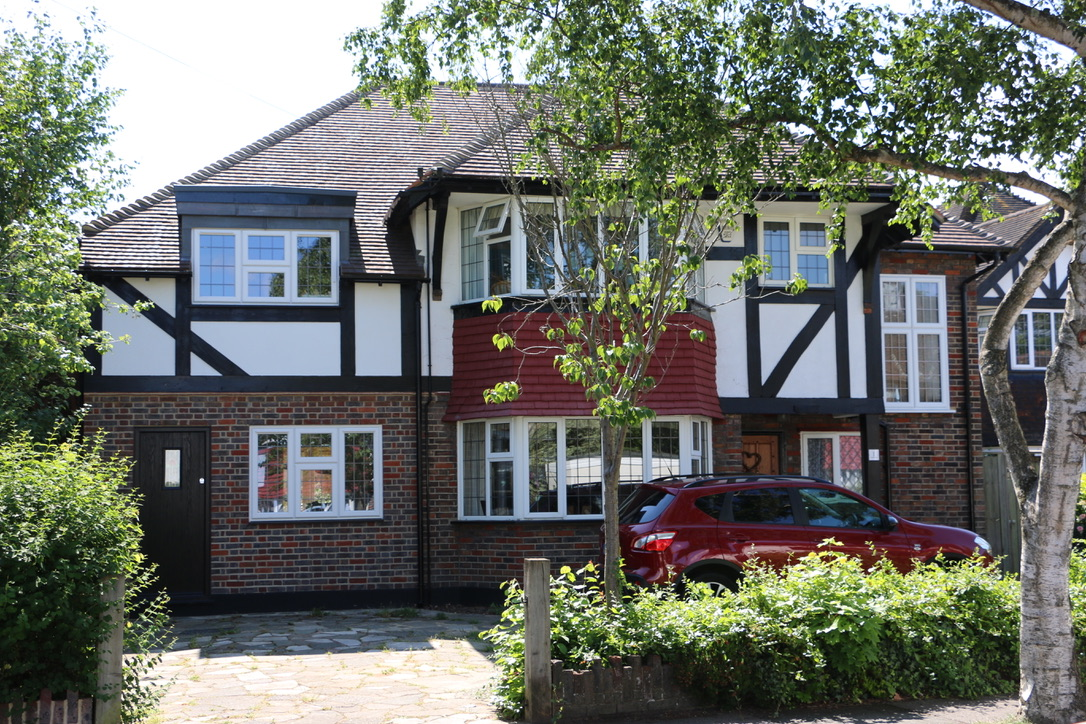 Two storey side and single storey rear addition in South Cheam