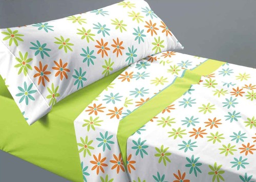 kids room bed sheet