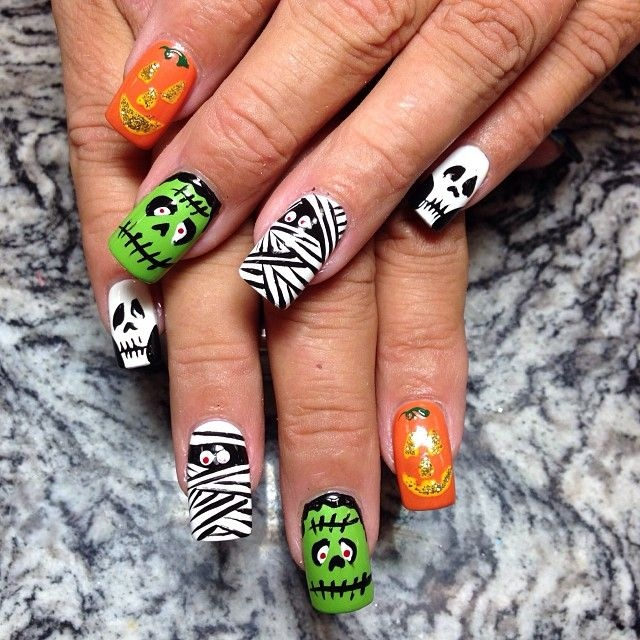 freaky nail art ideas