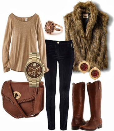 Warm Polyvore Combos To Try This Fall Season