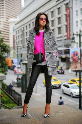 Leather Pants Winter Clothing For Women Casual Wearing