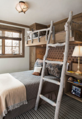 rustic style room for kids