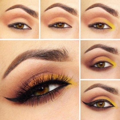 Step By Step Fall Makeup Pictutorials For Holiday Season
