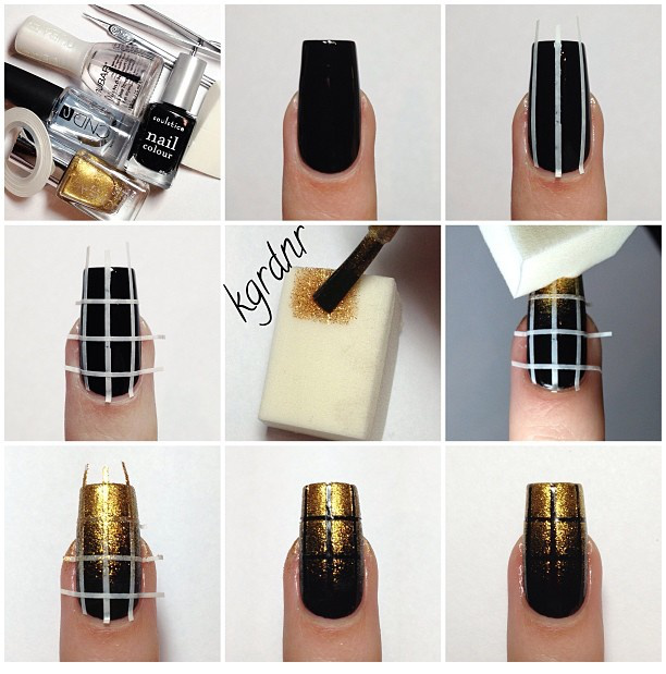 Step By Step Winter Nail Tutorials To Copy This Season 10