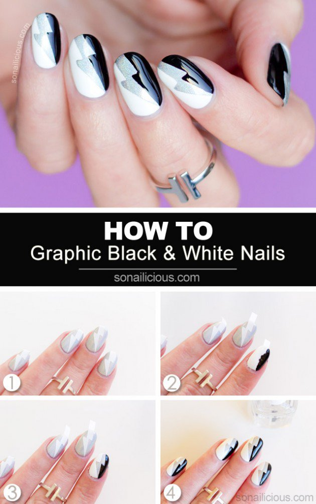 Step By Step Winter Nail Tutorials To Copy This Season 12