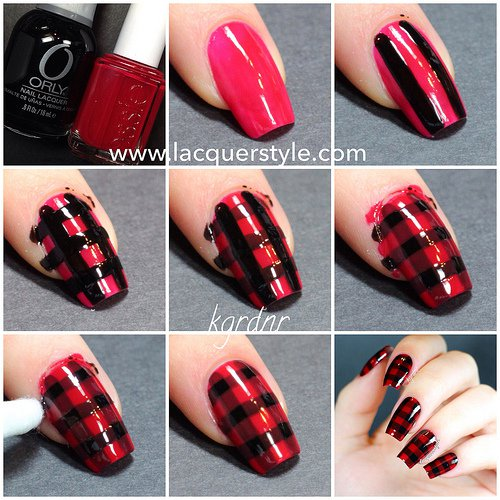 Step By Step Winter Nail Tutorials To Copy This Season 6