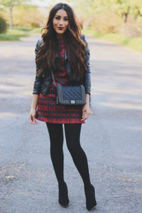 Stylish Plaid Outfits To Wear This Fall Season 2015-16