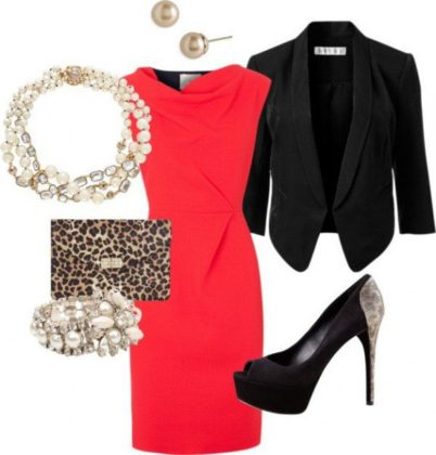Party wear office dress