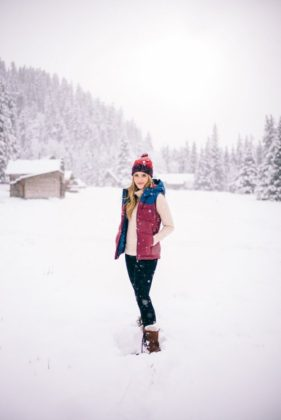 How To Wear Snow Boots With Jeans Winter Outfit Ideas
