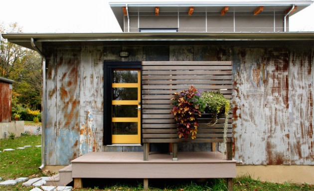 Industrial homes entry designs