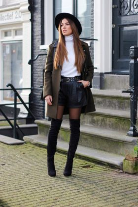 Turtle Neck Winter End Outfits Every Girl Should See