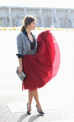 Women Red Outfits To Be Worn On Valentines Day