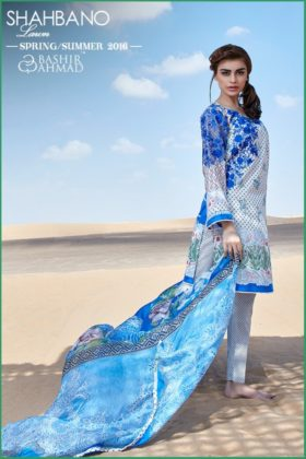 Fancy Summer Lawn Shahbano collection