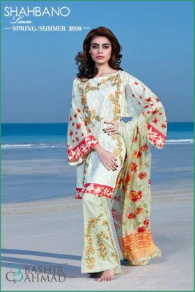 Fancy Summer Lawn Shahbano Collection 2016