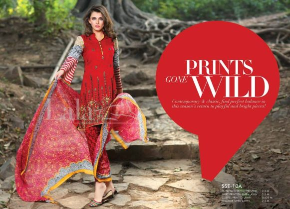 Sana Samia Embroidered Summer Lawn Collection