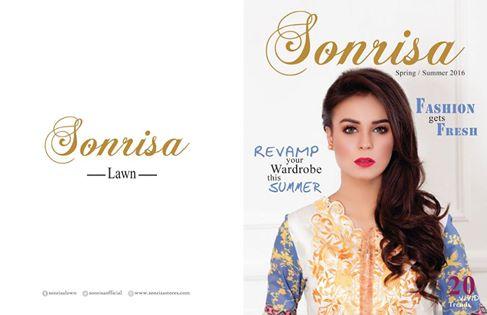 Sonrisa Embroidered 3 Pcs Lawn Suits Collection