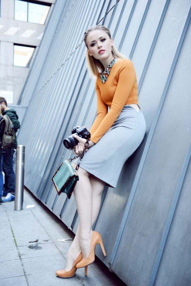 Pencil Skirt Trend During The Summer Days