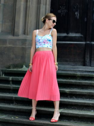 Summer Crop Top Outfits