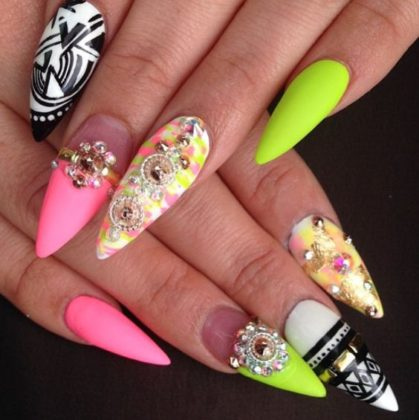 Neon Nail Designs You Will Love To Have In Summer