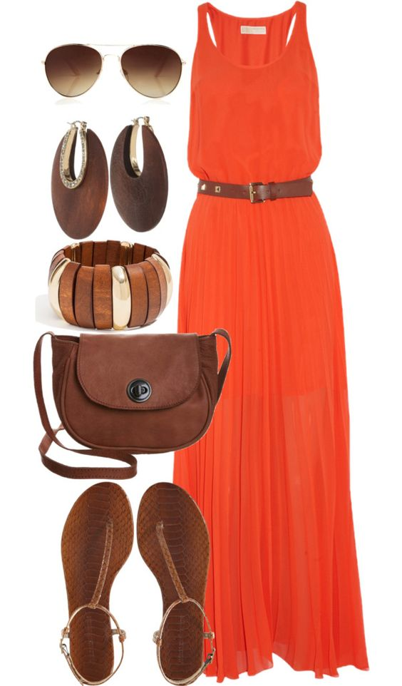 Summer Maxi Polyvore Dress Combos For Your Styling 3