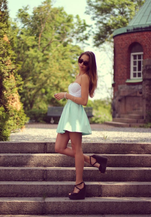 Mint Outfits Trend During The Autumn Season 2016-17 5